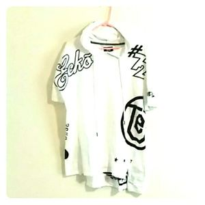 Ecko shirt with hoodie